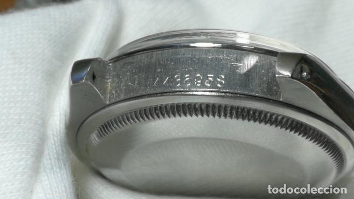 Relojes automáticos: RELOJ ROLEX OYSTER DATE ESFERA NEGRA del año 1976 , calibre 1570, de 26 rubís - Foto 3 - 183792187