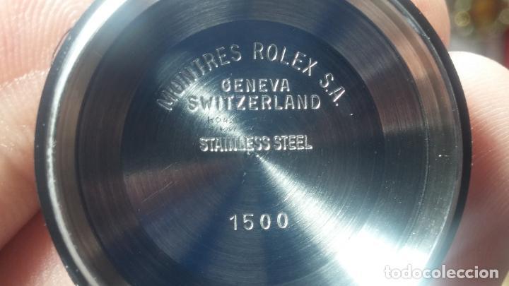 Relojes automáticos: RELOJ ROLEX OYSTER DATE ESFERA NEGRA del año 1976 , calibre 1570, de 26 rubís - Foto 5 - 183792187