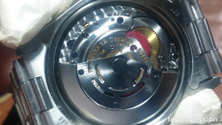 Relojes automáticos: RELOJ ROLEX OYSTER DATE ESFERA NEGRA del año 1976 , calibre 1570, de 26 rubís - Foto 7 - 183792187