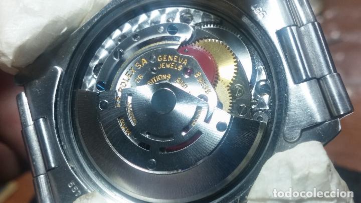 Relojes automáticos: RELOJ ROLEX OYSTER DATE ESFERA NEGRA del año 1976 , calibre 1570, de 26 rubís - Foto 8 - 183792187