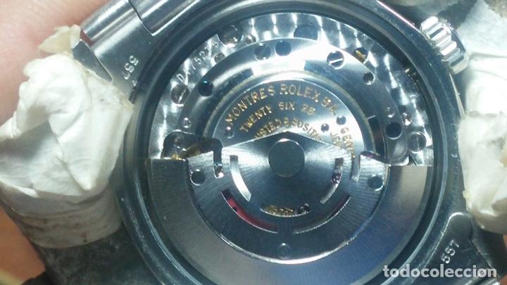 Relojes automáticos: RELOJ ROLEX OYSTER DATE ESFERA NEGRA del año 1976 , calibre 1570, de 26 rubís - Foto 15 - 183792187
