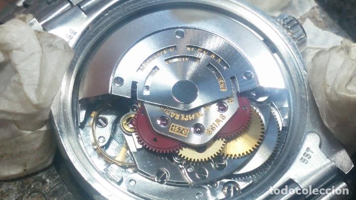 Relojes automáticos: RELOJ ROLEX OYSTER DATE ESFERA NEGRA del año 1976 , calibre 1570, de 26 rubís - Foto 17 - 183792187