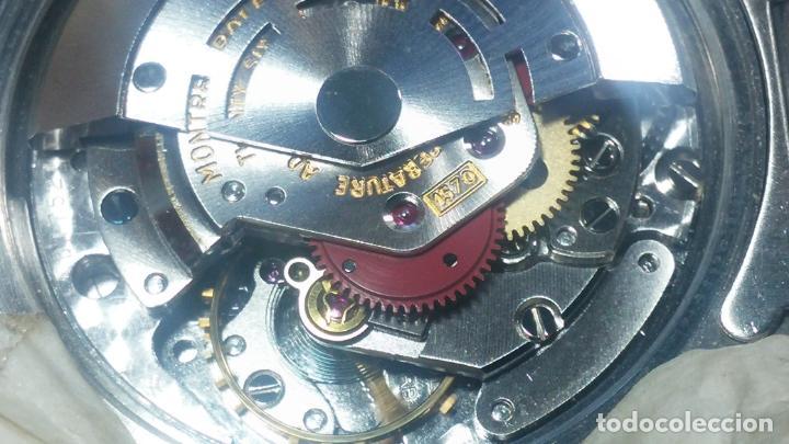 Relojes automáticos: RELOJ ROLEX OYSTER DATE ESFERA NEGRA del año 1976 , calibre 1570, de 26 rubís - Foto 18 - 183792187