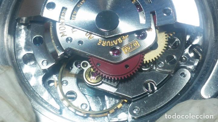 Relojes automáticos: RELOJ ROLEX OYSTER DATE ESFERA NEGRA del año 1976 , calibre 1570, de 26 rubís - Foto 19 - 183792187