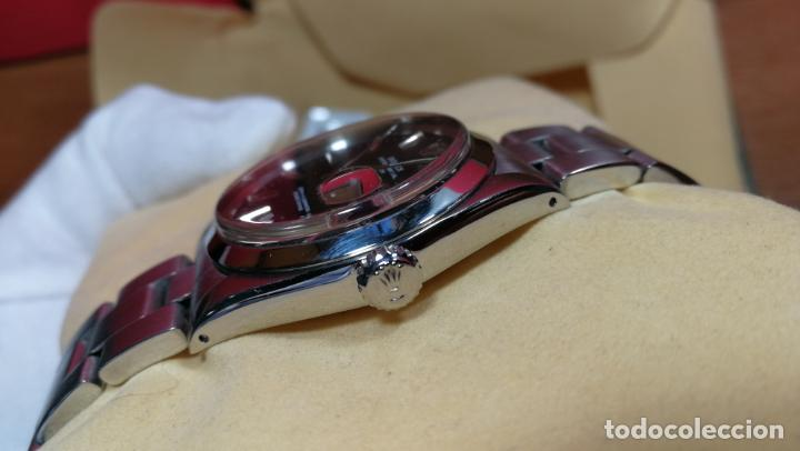 Relojes automáticos: RELOJ ROLEX OYSTER DATE ESFERA NEGRA del año 1976 , calibre 1570, de 26 rubís - Foto 33 - 183792187