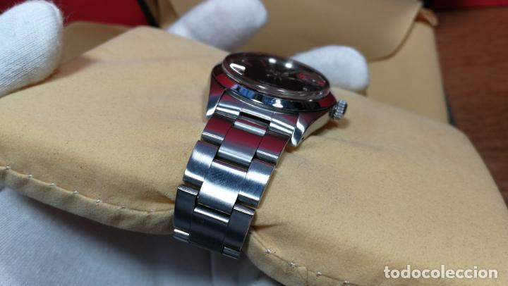 Relojes automáticos: RELOJ ROLEX OYSTER DATE ESFERA NEGRA del año 1976 , calibre 1570, de 26 rubís - Foto 34 - 183792187
