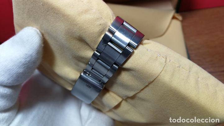 Relojes automáticos: RELOJ ROLEX OYSTER DATE ESFERA NEGRA del año 1976 , calibre 1570, de 26 rubís - Foto 35 - 183792187