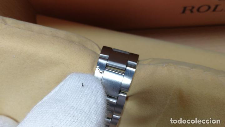 Relojes automáticos: RELOJ ROLEX OYSTER DATE ESFERA NEGRA del año 1976 , calibre 1570, de 26 rubís - Foto 37 - 183792187