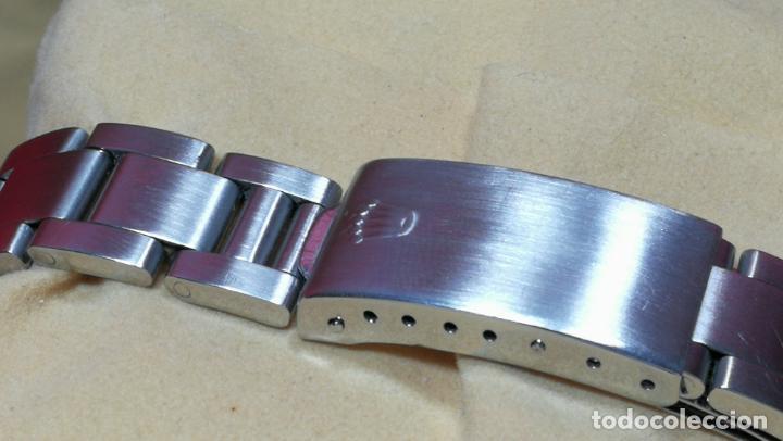 Relojes automáticos: RELOJ ROLEX OYSTER DATE ESFERA NEGRA del año 1976 , calibre 1570, de 26 rubís - Foto 38 - 183792187