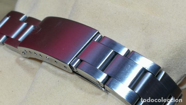 Relojes automáticos: RELOJ ROLEX OYSTER DATE ESFERA NEGRA del año 1976 , calibre 1570, de 26 rubís - Foto 39 - 183792187