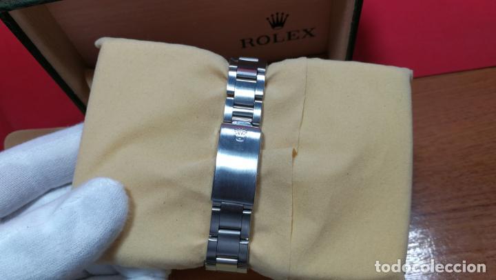 Relojes automáticos: RELOJ ROLEX OYSTER DATE ESFERA NEGRA del año 1976 , calibre 1570, de 26 rubís - Foto 40 - 183792187