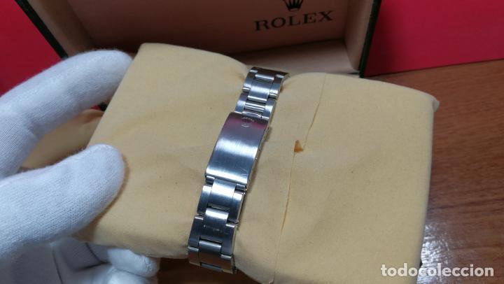 Relojes automáticos: RELOJ ROLEX OYSTER DATE ESFERA NEGRA del año 1976 , calibre 1570, de 26 rubís - Foto 41 - 183792187
