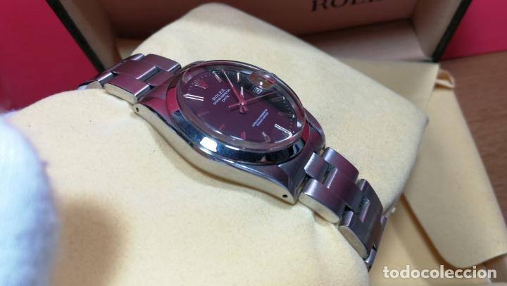 Relojes automáticos: RELOJ ROLEX OYSTER DATE ESFERA NEGRA del año 1976 , calibre 1570, de 26 rubís - Foto 47 - 183792187