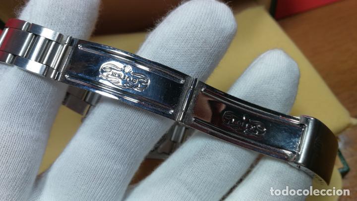 Relojes automáticos: RELOJ ROLEX OYSTER DATE ESFERA NEGRA del año 1976 , calibre 1570, de 26 rubís - Foto 48 - 183792187