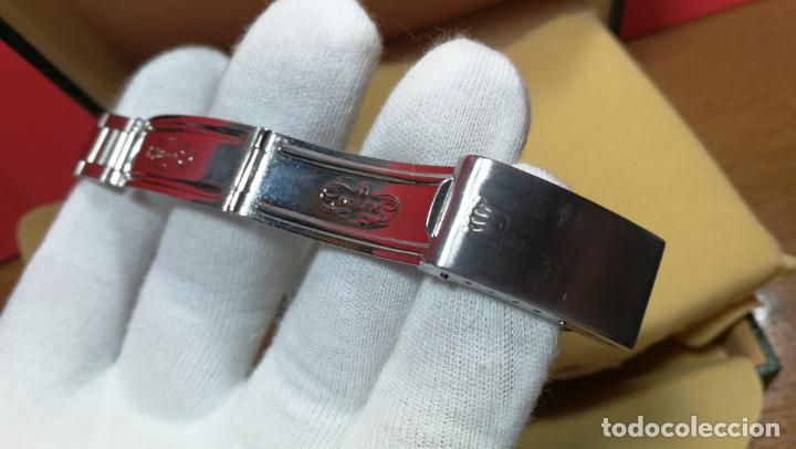 Relojes automáticos: RELOJ ROLEX OYSTER DATE ESFERA NEGRA del año 1976 , calibre 1570, de 26 rubís - Foto 49 - 183792187