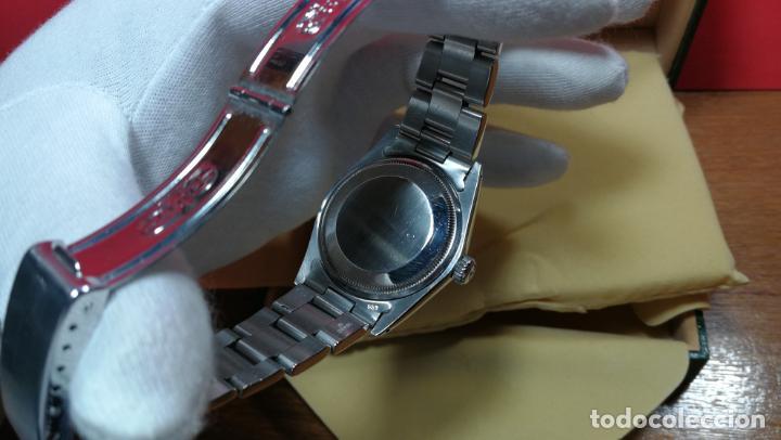Relojes automáticos: RELOJ ROLEX OYSTER DATE ESFERA NEGRA del año 1976 , calibre 1570, de 26 rubís - Foto 50 - 183792187