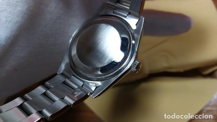 Relojes automáticos: RELOJ ROLEX OYSTER DATE ESFERA NEGRA del año 1976 , calibre 1570, de 26 rubís - Foto 51 - 183792187