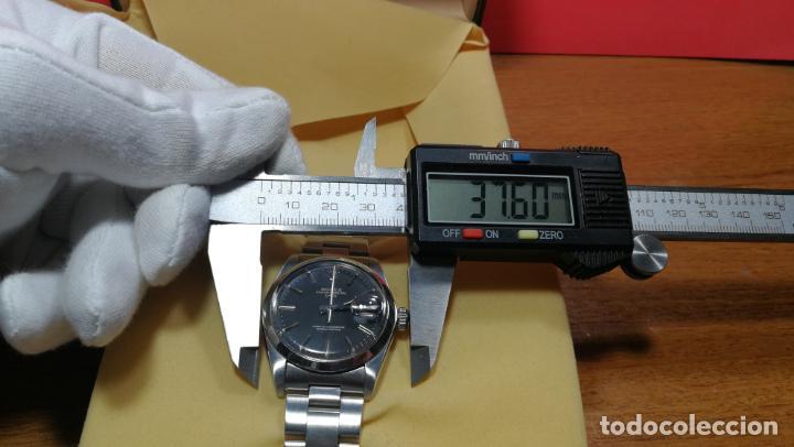 Relojes automáticos: RELOJ ROLEX OYSTER DATE ESFERA NEGRA del año 1976 , calibre 1570, de 26 rubís - Foto 58 - 183792187
