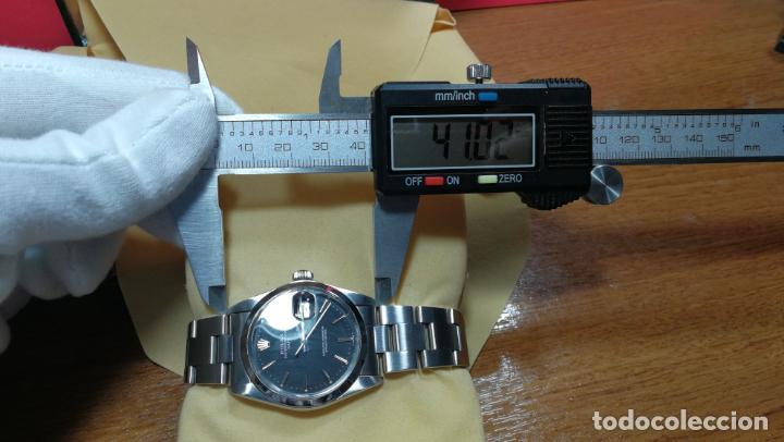Relojes automáticos: RELOJ ROLEX OYSTER DATE ESFERA NEGRA del año 1976 , calibre 1570, de 26 rubís - Foto 59 - 183792187