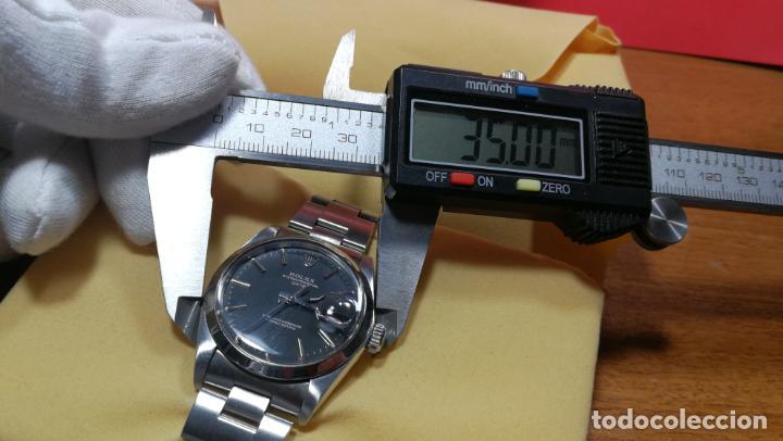 Relojes automáticos: RELOJ ROLEX OYSTER DATE ESFERA NEGRA del año 1976 , calibre 1570, de 26 rubís - Foto 60 - 183792187