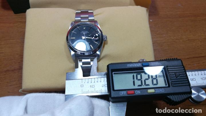 Relojes automáticos: RELOJ ROLEX OYSTER DATE ESFERA NEGRA del año 1976 , calibre 1570, de 26 rubís - Foto 62 - 183792187