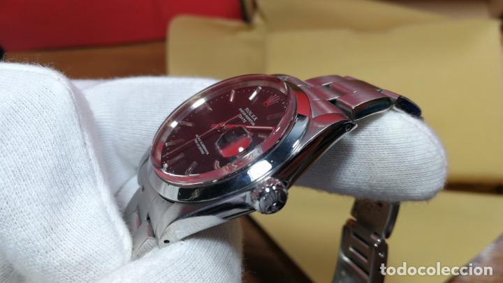 Relojes automáticos: RELOJ ROLEX OYSTER DATE ESFERA NEGRA del año 1976 , calibre 1570, de 26 rubís - Foto 68 - 183792187