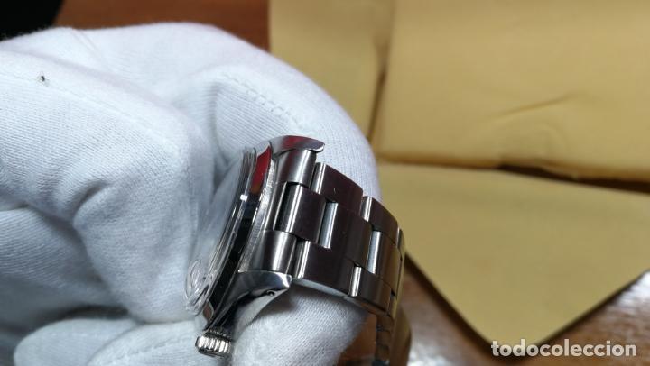 Relojes automáticos: RELOJ ROLEX OYSTER DATE ESFERA NEGRA del año 1976 , calibre 1570, de 26 rubís - Foto 69 - 183792187