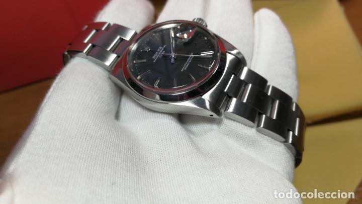 Relojes automáticos: RELOJ ROLEX OYSTER DATE ESFERA NEGRA del año 1976 , calibre 1570, de 26 rubís - Foto 78 - 183792187