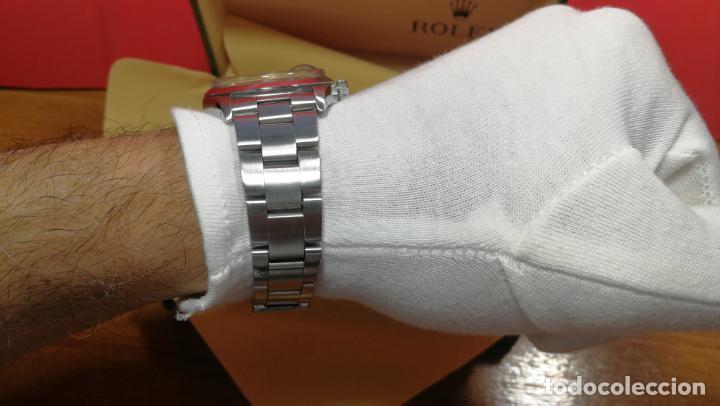 Relojes automáticos: RELOJ ROLEX OYSTER DATE ESFERA NEGRA del año 1976 , calibre 1570, de 26 rubís - Foto 83 - 183792187