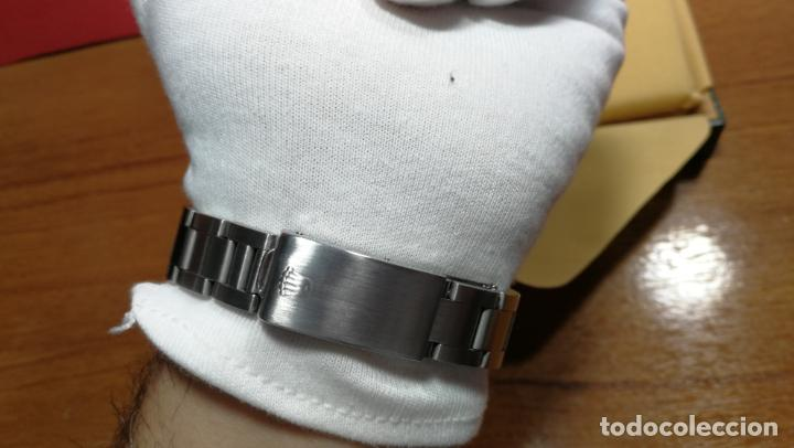 Relojes automáticos: RELOJ ROLEX OYSTER DATE ESFERA NEGRA del año 1976 , calibre 1570, de 26 rubís - Foto 85 - 183792187