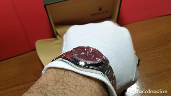 Relojes automáticos: RELOJ ROLEX OYSTER DATE ESFERA NEGRA del año 1976 , calibre 1570, de 26 rubís - Foto 89 - 183792187