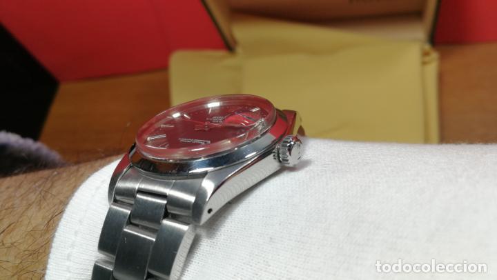 Relojes automáticos: RELOJ ROLEX OYSTER DATE ESFERA NEGRA del año 1976 , calibre 1570, de 26 rubís - Foto 91 - 183792187