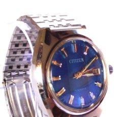 Relojes automáticos: RELOJ CITIZEN AUTOMATICO FUNCIONANDO. Lote 184205228