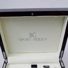 Relojes automáticos: RELOJ ORIGINAL BG AUTOMATICO CHRON0GRAPH SPORT SERIES. Lote 184231316