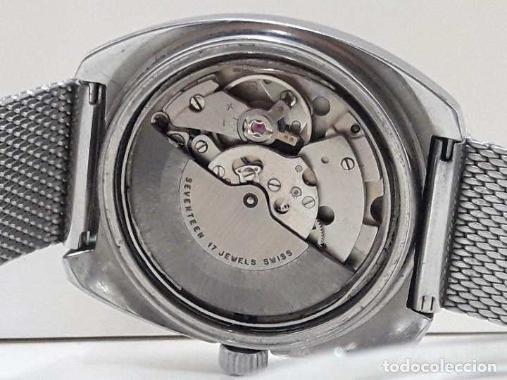 Relojes automáticos: RELOJ VINTAGE AUTOMÁTICO MARCA TITAN AÑOS 70 PRÁCTICAMENTE NUEVO - Foto 7 - 184554162