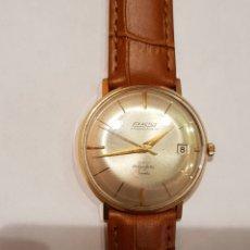 Relojes automáticos: RELOJ VINTAGE ORO 18K. EXACTUS AMBASSADEUR. Lote 184637255
