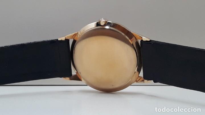 Relojes automáticos: ESPECTACULAR RELOJ VINTAGE CYMA AUTOROTOR DE ORO DE LEY AÑOS 50 AUTOMÁTICO Y NUEVO - Foto 3 - 184727252