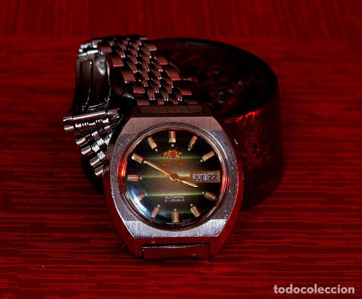 Relojes automáticos: RELOJ AUTOMÁTICO VINTAGE ORIENT - Foto 2 - 184849570