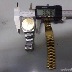 Relojes automáticos: RELOJ SEIKO 5 AUTOMATICO MAS CORREA SEIKO FUNCIONANDO. Lote 185034363
