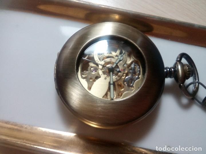 Relojes automáticos: RELOJ COBRE AUTOMATICO. - Foto 3 - 218838720