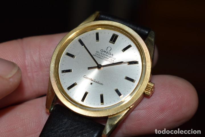 Relojes automáticos: Reloj Omega automatico Constellation oro 18k Cal. 712 ;precioso,impecable - Foto 5 - 185975638