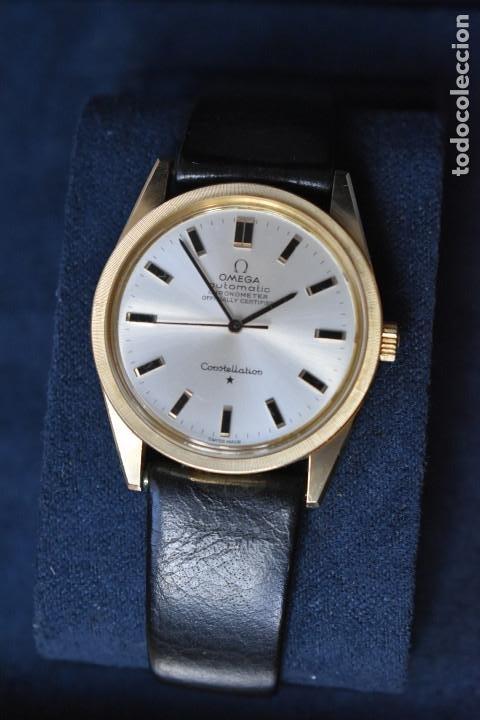Relojes automáticos: Reloj Omega automatico Constellation oro 18k Cal. 712 ;precioso,impecable - Foto 8 - 185975638