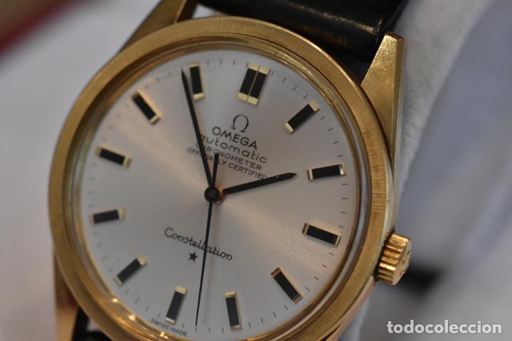 Relojes automáticos: Reloj Omega automatico Constellation oro 18k Cal. 712 ;precioso,impecable - Foto 17 - 185975638