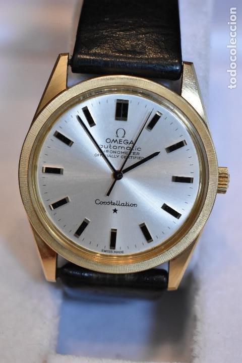 RELOJ OMEGA AUTOMATICO CONSTELLATION ORO 18K CAL. 712 ;PRECIOSO,IMPECABLE (Relojes - Relojes Automáticos)