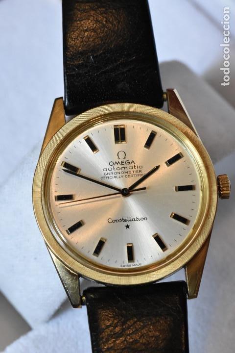Relojes automáticos: Reloj Omega automatico Constellation oro 18k Cal. 712 ;precioso,impecable - Foto 20 - 185975638