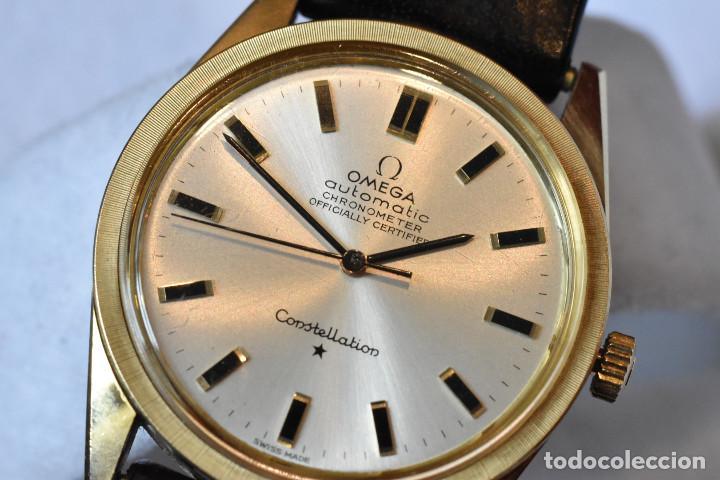 Relojes automáticos: Reloj Omega automatico Constellation oro 18k Cal. 712 ;precioso,impecable - Foto 21 - 185975638