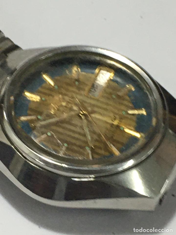 Relojes automáticos: Orient crystal 21 jewels maquinaria japan 46941 vintage - Foto 2 - 186443188