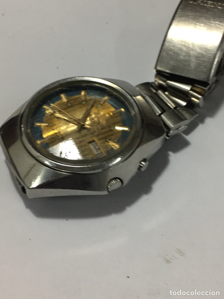 Relojes automáticos: Orient crystal 21 jewels maquinaria japan 46941 vintage - Foto 3 - 186443188