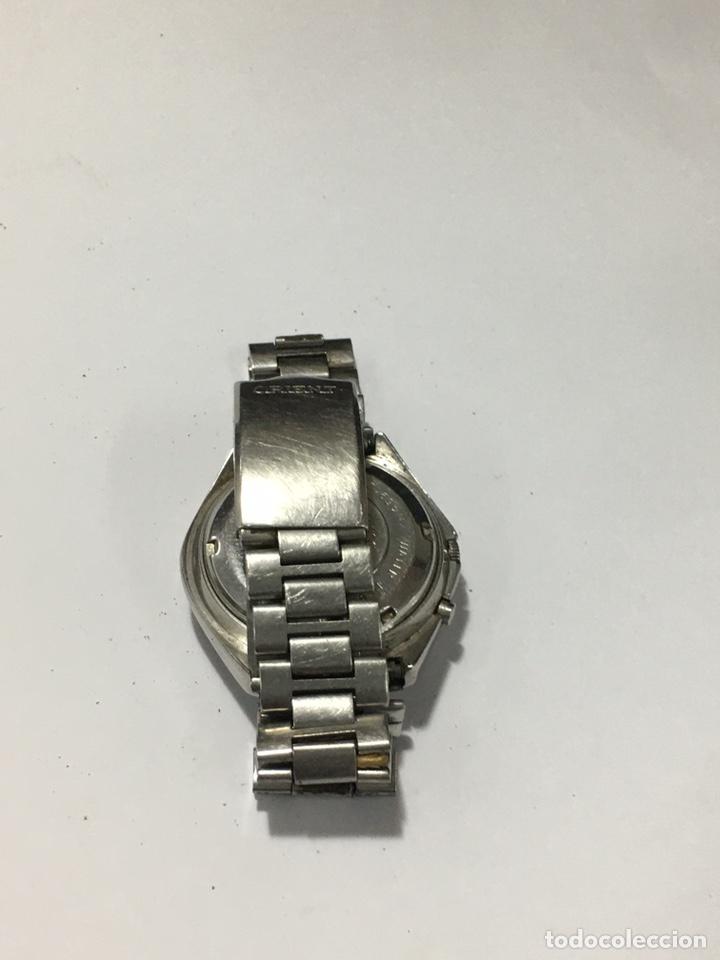 Relojes automáticos: Orient crystal 21 jewels maquinaria japan 46941 vintage - Foto 4 - 186443188