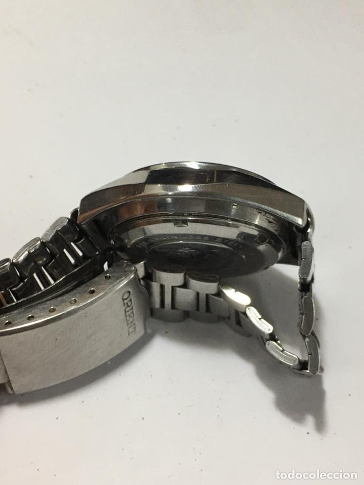 Relojes automáticos: Orient crystal 21 jewels maquinaria japan 46941 vintage - Foto 5 - 186443188